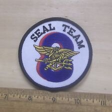 US Navy - Seal Team Eight Embroidered Patch