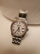 Rolex Uhr Oyster Perpetual Datejust Armband date Superlative Chronometer 36mm