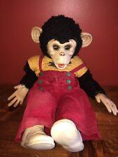 Vintage ZIP MONKEY Howdy Doody Stuffed Animal 1989