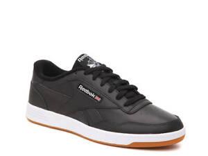 REEBOK Club Memt Men's Shoes Black White Gum Leather Memory Tech FU7136