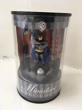 "2.5"" WARNER BROS MINIATURE CLASSIC COLLECTION ANIMATED BATMAN STATUE FIGURE"