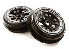 Integy OBM-1639 Type B513 Front Wheel & Tire Set (2) for HPI 1/5 Baja 5B & 5B2.0