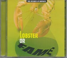 LOBSTER OR FAME Two Decades Of Bad Taste RARE 2CD Sigur Ros Bjork Sugarcubes