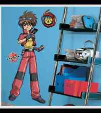 Bakugan Wall Decor Set 29 Appliques & Large Dan Mural
