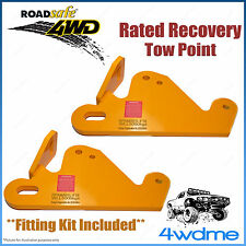 Volkswagen Amarok 2009 on 4WD Roadsafe Rated Recovery Heavy Duty Tow Points Kit