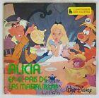 Walt Disney 45 tours Alice au pays des merveilles Pressage espagnol