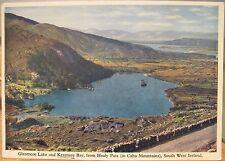 Irish Postcard GLENMORE LAKE Healy Pass Caha Mtns Kenmare Ireland 4x6 Mac Series