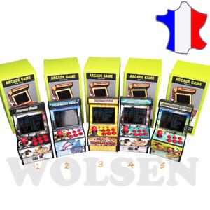 Mini Borne arcade retro16 bits console portable classique retrogaming ideal Noël
