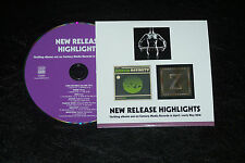 PROMO CD from CENTURY MEDIA HAKEN LONG DISTANCE CALLING ZOAX AVATAR and more...