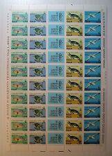 1978  ITALIA  170 lire   Il Mare Deve Vivere    foglio intero MNH**