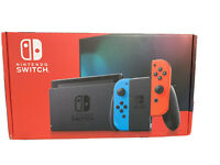 Nintendo Switch 32GB Console w/ Neon Blue & Neon Red Joy Con *NEW IN HAND*
