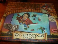 Harry Potter Quidditch Board Game by University Games 2000 Complete