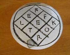 "Arcade Fire Reflektor Sticker Original Promo 5"" Mirrored Circle"