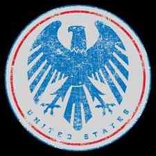 """USA National Team Sticker 6"""" x 6"""" - USA Soccer Sticker - StickersFC.com"""