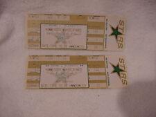 RARE Minnesota North Stars 1993 Playoff Round 1 & 2 Unused Tickets, MINT!!