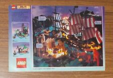 Seltene Werbung LEGO Piraten 6285 Piratenbrigantine 6270 Pirateninsel IT 1990