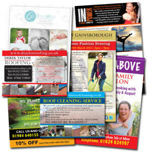 A5 Flyers Leaflets Printed Full Colour 170gsm Glossy