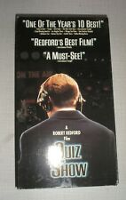Quiz Show (VHS Tape, 1995)