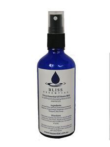 Bliss Essential Oil Room Mist 100ml Bottle