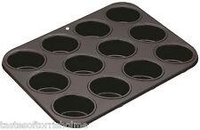 Masterclass Professional 12 Hole Oval Friand Non Stick Cake Tin Baking Tray