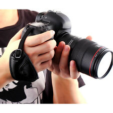 PU Leather Camera Hand Wrist Strap for Canon 30D 40D 50D 60D 70D 80D 100D 200D