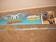 AEROSMITH PROMO DISPLAY 2012 MUSIC FROM ANOTHER DIMENSION WALMART
