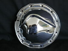 DIFFERENTIAL COVER CHROME STEEL GM 12 BOLT 64 - 72  INTERMEDIATE WITH OIL HOLE