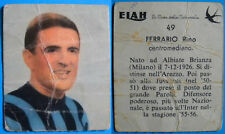 RARA FIGURINA CARTONATA ELAH INTER ANNI 50 - FERRARIO - N. 49