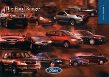 Ford 1998 UK Market Sales Brochure Ka Fiesta Puma Escort Mondeo Scorpio Galaxy