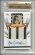 Razor Pop Century Dressing Room Swatch Kim Kardashian Auto Autograph BGS 9.5 10