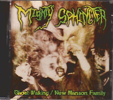 MIGHTY SPHINCTER  cd 80's goth punk placebo