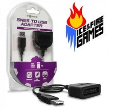 SNES - PC USB Controller Adapter For Windows & Mac - New w/ Packaging (Nintendo)