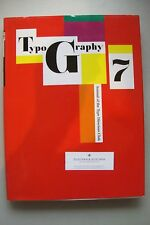 Typography 7 Annual of the Type Directors Club 1980 Typografie