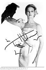 Tippi Hedren + + autógrafo + + + + hollywood leyenda + +2