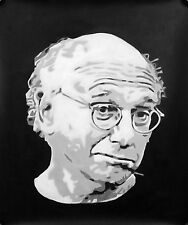 Curb your enthusiasm Larry David Seinfeld Oil Painting 20x16 NOT a print poster.