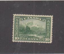 CANADA (MK5669) # 155 VF-MLH  10cts 1928 MOUNT HURD,BC / GREEN CAT VALUE $30