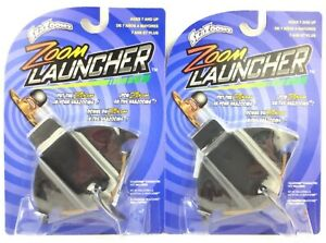Lot of 2 SkaZooms Zoom Launcher Kids Age 7+ Fun Toys Accessories By Jax 2012 New