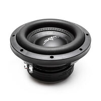 "NEW SKAR AUDIO VD-8 D2 8"" DUAL 2 OHM 600W MAX POWER SHALLOW MOUNT CAR SUBWOOFER"