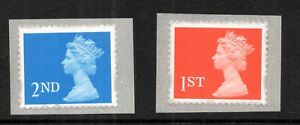 1997. SG1976-1977. Set x 2 self adhesive values. Superb unmounted mint.