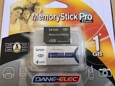 DANE-ELEC Memory Stick PRO Duo, 1.0GB AVEC ADAPTATEUR
