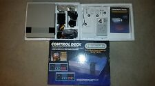 NINTENDO ENTERTAINMENT SYSTEM CONSOLE NES CONTROL DECK COMPLETE IN BOX VG COND