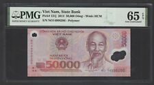 Viet Nam 50000 Dong 2005 P121c Uncirculated Graded 65