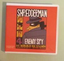 wendelin van draanen  SHREDDERMAN ENEMY SPY  CD unabridged shredder man