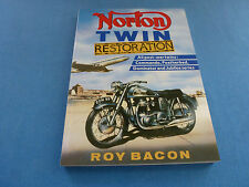 NORTON TWIN RESTORATION MANUAL BOOK ROY BACON OWNERS SHOP SERVICE REPAIR