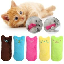 Catnip toys Interactive Cat Kitten Chewing Claws Thumb Bite Mint Funny Playable