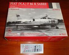TauroModel Fiat F86K  Sabre 1/72  Aviazione Italiana Luftwaffe resin kit