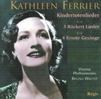 CD MAHLER FERRIER KINDERTOTENLIEDER BRAHMS  WALTER