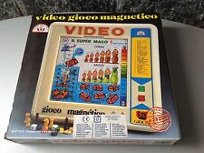 80S# Vintage Console Magnetica Stella 35 Games Included# Nib Very Rare