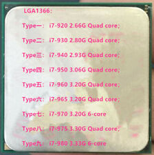 Intel Core I7-920 I7-930 I7-940 I7-950 I7-960 I7-965 I7-970 I7-975 I7-980 CPU