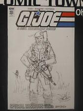 GI Joe Real American Hero #251 1:10 Var Hama Sketch Variant 1st Print